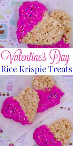 Rice Krispie treats are a perfect easy no bake recipe for kids. They are easy & versatile - check out my Valentine's Day Rice Krispie Treats.