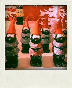 Chinese Ceramic Gnomes by bebejack