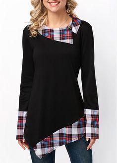 Shop Women's Tees & T-shirts Online . Shop Women's Tees & T-shirts Online Cheap Womens Tops, Trendy Tops For Women, T Shirts For Women, Diy Fashion, Womens Fashion, Trendy Fashion, T Shirt Diy, Shirt Shop, Long Sleeve Tunic