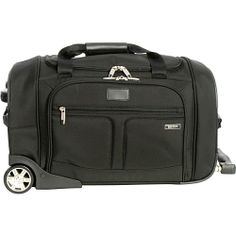 #Boyt, #Luggage, #SmallRollingLuggage - Boyt Mach 6 Carry-on Wheeled Duffel - Black