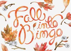 Fall into Bingo by Sasha Prood