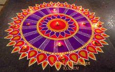 Free Hand Rangoli Design Ideas For Diwali Rangoli Designs Latest, Latest Rangoli, Simple Rangoli Designs Images, Rangoli Designs Flower, Rangoli Patterns, Rangoli Border Designs, Rangoli Ideas, Colorful Rangoli Designs, Rangoli Designs Diwali