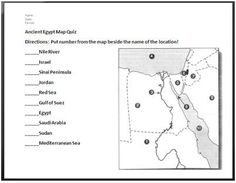 Ancient Egypt Map Worksheet Answers.18 Best Ancient Egypt Images 6th Grade Social Studies Ancient