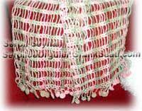 Beyaz yelek ve bandana örme tekniği  White women's jacket and cap knitting technique