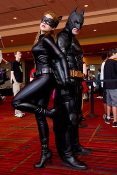 Batman And Catwoman Costumes.