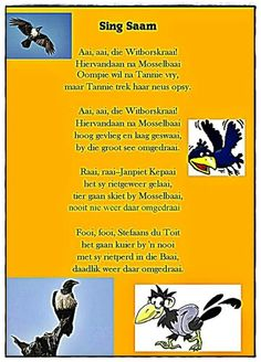 Memories - Afrikaans - New education My Children Quotes, Quotes For Kids, Rhymes Songs, Kids Songs, Animals Name In English, Afrikaans Quotes, Preschool Learning, Teaching, My Journal