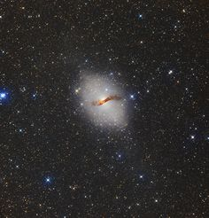 Object: NGC 5128 Constellation Centaurus