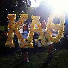 kappa alpha theta at university of mississippi fun flower bid day letters