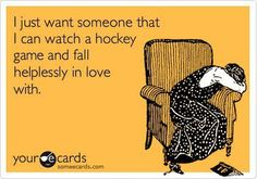 Hockey Love. Is that too much to ask for?
