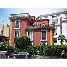 villa liberty al lido di venezia