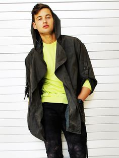 Combine Dark Tones with Unexpected Neon for new Hipster Cool Trend
