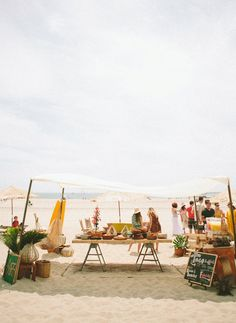 Surf themed 40th birthday party   Planning + Design by Aaron Hartselle Creative    Photo by Laura Goldenberger