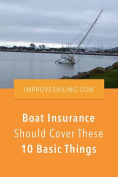 Boat Insurance Should Cover These 10 Basic Things – As a beginner sailor, what could you expect from good boat insurance? Read the article for all 10 things Liveaboard Sailboat, Expensive Yachts, Sailboat Living, Buy A Boat, Boat Insurance, Best Boats, Small Boats, Cruise, Around The Worlds