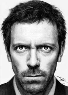 - Drawn with HB, 3B, 5B Pencil - Contrasted and darkened in PhotoImpact XL. Alterations that deviate from original photograph were intended (forehead shortened, angled eyebrows, etc) Reference shot...