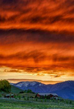 Lake Chelan sunset - Ben Geudens RT