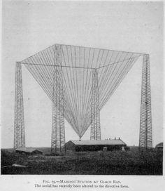 PRE WW1 WIRELESS TELEGRAPHY 1913