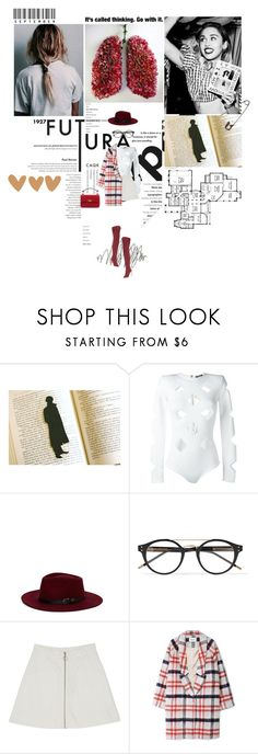 """""""It's called thinking. Go with it."""" by miky94 ❤ liked on Polyvore featuring Beautiful People, Behance, Grey's Anatomy, Balmain, Olive & Pique, Bottega Veneta, Monki, Ganni and Gianvito Rossi"""