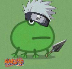 Anime Naruto, Naruto Cute, Naruto Funny, Naruto Kakashi, Naruto Shippuden Anime, Boruto, Anime Meme, Loki Drawing, Amazing Frog