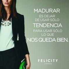 Madurar. #fashion #style #muyfelicity By Felicity Urban
