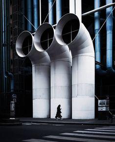 #LeCentrePompidouVuParVous - 📸 @williamjaychoi - #CentrePompidou #Museum #Architecture #RenzoPiano #RichardRogers #Paris #RainyDay