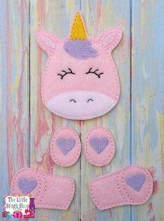 Unicorn Set Over Sized: The Little Stitch Shop