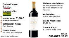 Comprar el vino tinto Izadi Crianza 2012, 25 aniversario