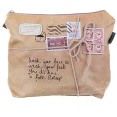 Paper Plane Wash Bag ($3.89) ❤ liked on Polyvore featuring bags, fillers, accessories, extras, other, embellishments and detail