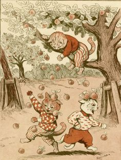 Louis Wain illustration