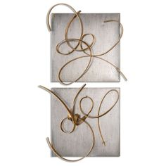 Brand new beautiful home accent. Harmony Metal Wall Art, Set of 2 by Uttermost  #homedecorationideas #homedecorating #innovationsdesignerhomedecor #homedecoridea #homedecoration #homedecorstore #homedecorate #homedecorations #interiordecoration #homedecorshopping