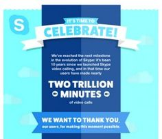 To celebrate 10 years of video calling, Internet telephony co Skype has announced group video calling on Android, iPhone, iPad & Windows 10 Mobile – everywhere, completely free.