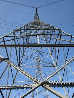 High voltage transmission lines -  Avoid