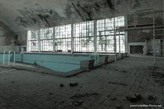 Jeux Olympiques Berlin 1936 - La piscine du village olympique sur le site de Wustermark