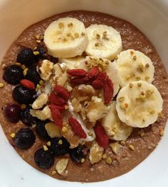 Raw Chocolate Peanut Butter Buckwheat Porridge www.rachaelsrawfood.com by Kavisha Jega