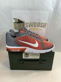 premium selection 5b331 909cb Nike Air Max Sequent 2 852461-008 Cool Grey New Size 12.5 Men s  Nike   AthleticSneakers