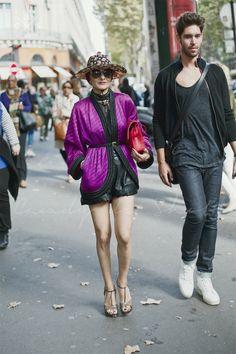 Paris Fashion Week 2015 S/S Street style :Day 3 #catherinebaba