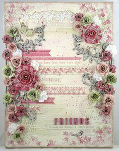 'Friends' canvas by Natasha for Pion Design