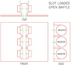 The Slot Loaded Open Baffle Project Article By Nelson Pass