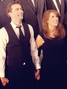 David Tennant and Catherine Tate(beautiful woman)  in Much Ado About Nothing