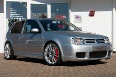 """Ultraleggera HLT 19"""" on VW Golf IV R32 Bi-Turbo"""