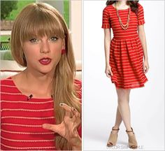 Taylor Swift Style Taylor Swift Style, Everyday Dresses, Girls Be Like, Striped Dress, Pretty Dresses, Everyday Fashion, Passion For Fashion, Anthropologie, Cool Outfits
