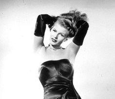 Glamorous actress Rita Hayworth