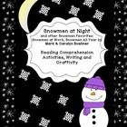 Common Core aligned activities go with Snowmen At Night, Snowmen At Work and Snowmen All Year. Activities for  close reading, shared reading, liste...