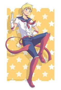 Sailor Moon Genderbend | Sailors