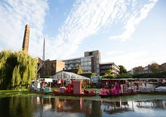 IKEA floating night market (event) in UK