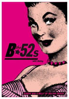 Scrojo, The B-52s Poster, 2011