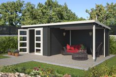 8711471581609_2 Outdoor Life, Outdoor Living, Outdoor Decor, Nottingham, Southampton, Shed, Outdoor Structures, Garden, Blue