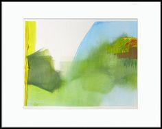 Contemporary Abstract Painting 16 x 12 original by laurenadamsart, $150.00