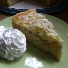 """Ich hab heut dringend noch einen Kuchen backen müssen! Hab das Rezept von meiner Mami bekommen und gleich getestet!!!:biggrin_big: Apfelkuchen """"Auf die..."""