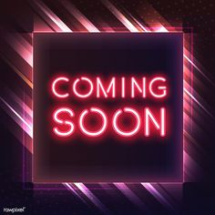 Boutique Interior, Coming Soon Logo, Wallpaper Stores, Soy Wax Melts, Free Illustrations, Neon Lighting, Unique Colors, Marketing And Advertising, Diamond Cuts