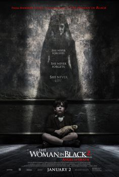 Poster from the movie The Woman in Black 2: Angel of Death.